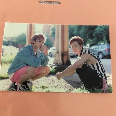 BTS Now 3 in Chicago Dreaming Days Official Photocard Jungkook and Jimin