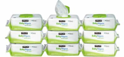 Kirkland Signature Baby Wipes 900Ct Unscented Ultra Soft(9 Packs X 100ct=900ct)