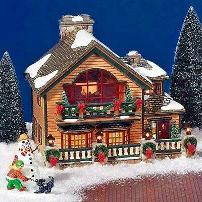 "Dept 56 Snow Village /""Buck/'s Fish Shack/"""