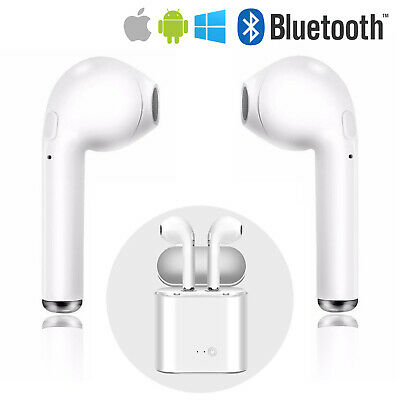 Auricolari Cuffie Bluetooth 5.0 Wireless Per Apple Ios Android Samsung Huawei