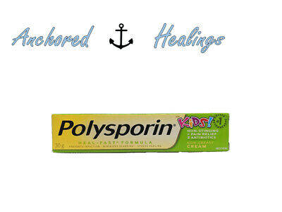 Polysporin Kids Heal Fast Ointment Pain Relief Non-Greasy 30g Exp.01/2021