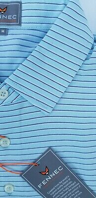 Fennec Technical-S/S Soft Jersey Stripe, Moisture Wicking Golf Shirt SALE $21.99