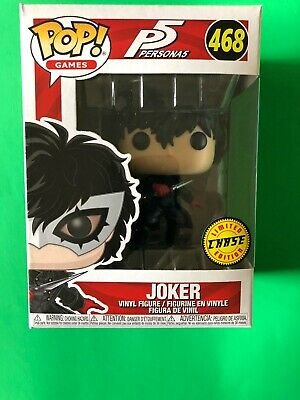 Funko Pop Persona 5 P5 JOKER CHASE   Ready To Ship W/ soft Pop Protector