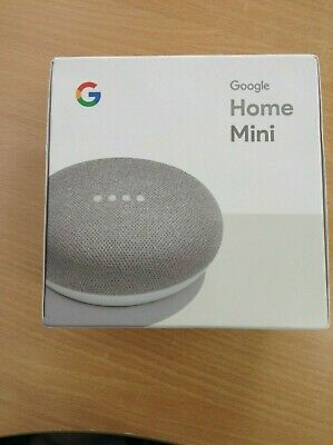 #771 BRAND NEW Google Home Mini Smart Assistant - Chalk