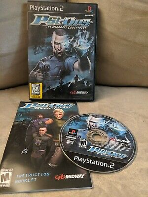 Psi-Ops: The Mindgate Conspiracy (Sony PlayStation 2, 2004)  FAST SHIPPING  PS2