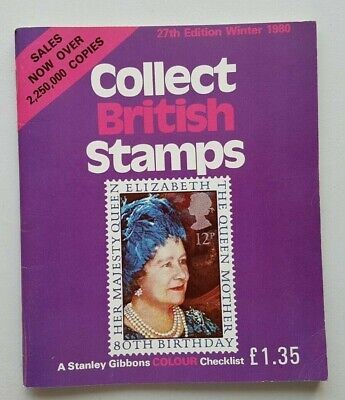 Stanley Gibbons Collect British Stamps. 1980 edition. Used, good condition.