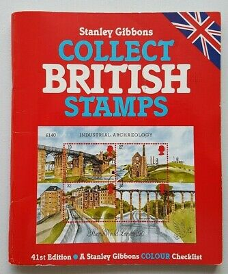 Stanley Gibbons Collect British Stamps. 1989 edition. Used, good condition.