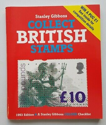 Stanley Gibbons Collect British Stamps. 1993 edition. Used, good condition.
