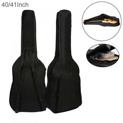 40/41 Inch Oxford Fabric Guitar Case Gig Bag Double Straps Padded 5mm Cotton bag