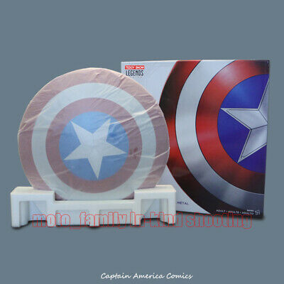 Metal Marvel Legends Captain America 75th Anniversary 1:1 Shield Cosplay Props