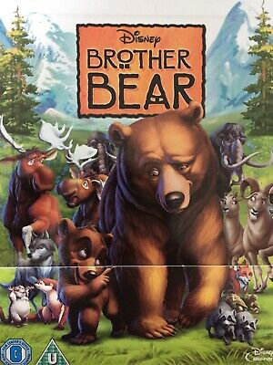 BROTHER BEAR (2015 Disney) - BLURAY Steelbook AS NEW! UK Import All Region