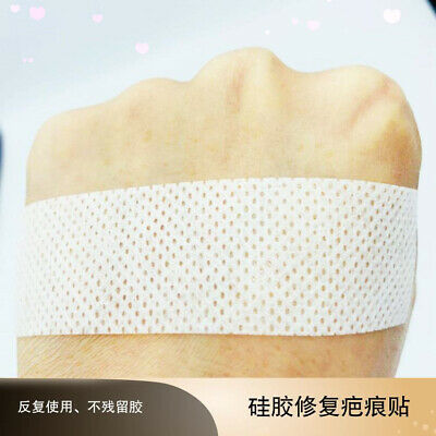 Scar Away Treatment Sheet Tape Repair Silicone Gel Strips Patch Medical Reusable