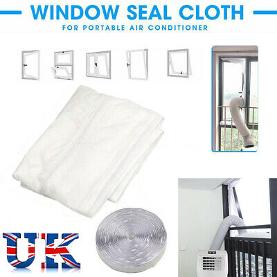 Air Lock Window Seal Living Room 400 cm Mobile Portable Air Conditioner Home New