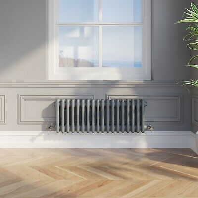 Modern Freestanding Bath 1550mm White Acyrlic Double Ended Roll Top FREE Waste