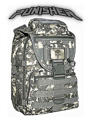 FREE SELF DEFENSE SKULL Punisher Recon Pack AIRSOFT Gear Ammo Tactical Backpack