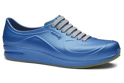 Toffeln Aktiv Flex 220 - Metallic Blue - Washable Work Shoes