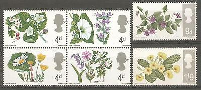 1967 Flowers ( Ord.) - Mint Never Hinged