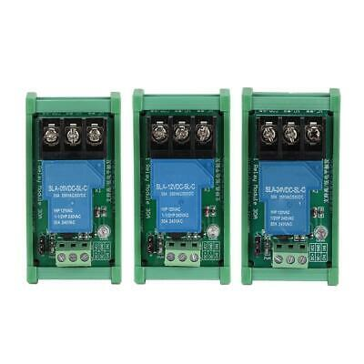 5V/12V/24V 1 Channel High/Low Trigger Relay Module With Optocoupler Isolation