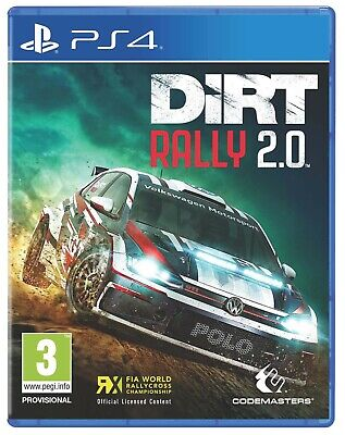 Dirt Rally 2.0 (PS4)  BRAND NEW AND SEALED - IN STOCK - QUICK DISPATCH - IMPORT