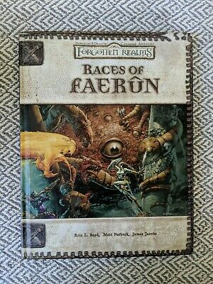 DUNGEONS & DRAGONS Forgotten Realms Races of Faerun