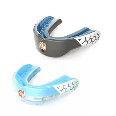 Shock Doctor Gel Max Power Youth MMA Boxing Rugby Mouthguard Gumshield