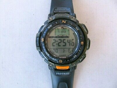 1374d92f2 CASIO PRO TREK PRG-650YBE-3JR Solar Extra Band Mens Watch - EUR 562 ...