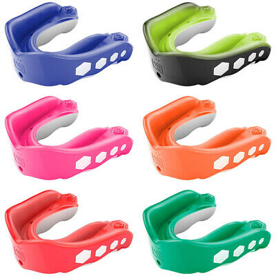 Shock Doctor Gel Max Youth MMA Boxing Rugby Flavoured Mouthguard Gumshield