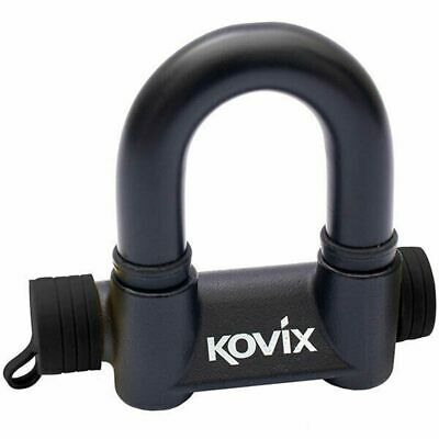 KOVIX 47mm X 60mm ALARMED PADLOCK MOTORCYCLE ATV QUAD MX BIKE SECURITY