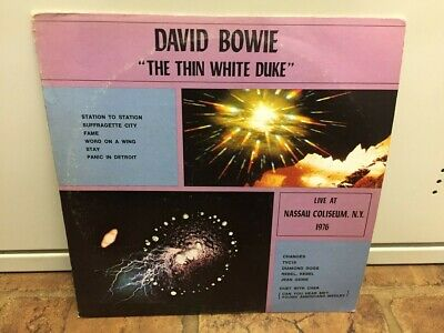 David Bowie THE THIN WHITE DUKE - Rare 2LP 1976 Live