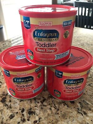 Enfagrow Premium Toddler Next Step 3 Containers Expire May 2020