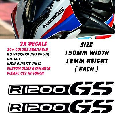 BMW R1200 GS V2 Decal Sticker Graphic Motorcycle Fairing Motorbike Racing