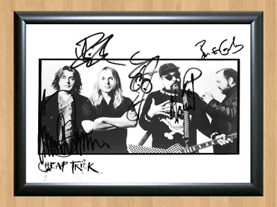 Cheap Trick At Budokan Band Signed Autographed A4 Poster Photo Memorabilia cd