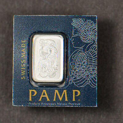 PAMP SWISS Ceritifed 1 Gram .9995 PLATINUM BAR - SEALED Lot#M510