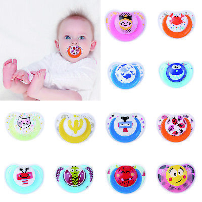HOT Newborn Baby Kids Pacifier Infant Soft Silicone Dummy Teeth Nipples Soother