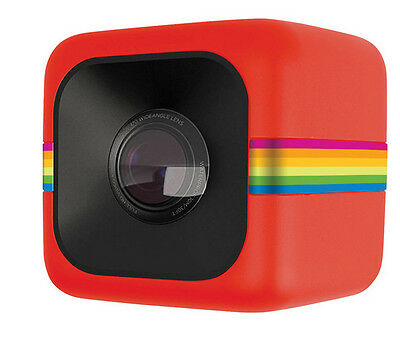 BRAND NEW Polaroid Cube Plus Camcorder - Red RARE [Factory Sealed]