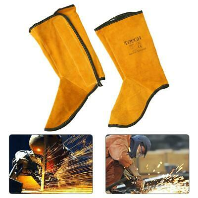 Foot Cover Pure Leather Welding Foot Wear Fireproof Flower Splash Protection
