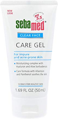 Sebamed Clear Face Care Gel with Hyaluronic Acid Aloe Vera and Provitamin B5 for