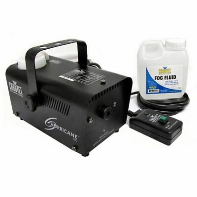 Hurricane Pro Fog Smoke Machine with Fog Fluid and Remote | H700 Chauvet DJ