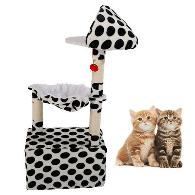 """47"""" Kitten Cat Tree Tower Condo Furniture Scratching Post Pet House Play"""