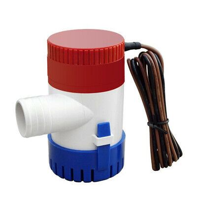 Live Submersible Cartridge Aerator Bi 12V 800GPH Straight Inlet Bait Well Pump