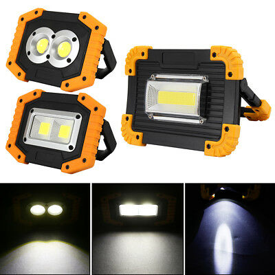Outdoor Portable LED Work Light Waterproof USB Rechargeable Car Maintenance Lamp