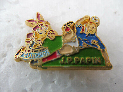 Pin's Epinglette - Euro 92 J.p. Papin Football - Email
