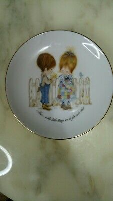 Petticoats And Pantaloons Collector Plate Love Is The Little Things We Do For...