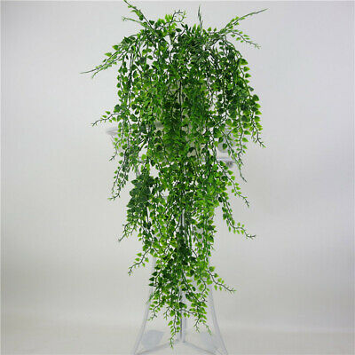 Artificial Flower Needles Fake Vine Plants Leaves Wall Hanging