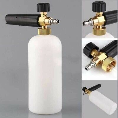 "1/4"" Pressure Snow Foam Washer Jet Car Wash Adjust Lance Soap Spray Cannon Tools"