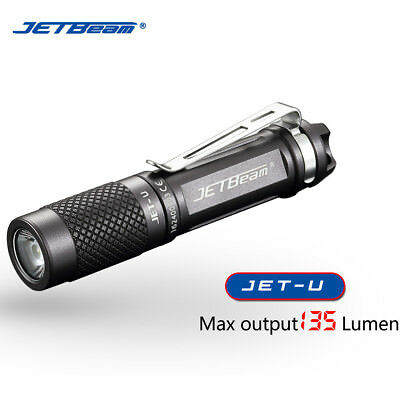 JETbeam JET-U(JET-μ)  XP-G2 135LM Mini Portable Waterproof LED Flashlight