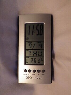 Travel, LCD, Digital, Alarm Clock, Day, Date, Temperature, ( BATTERY SUPPLIED )
