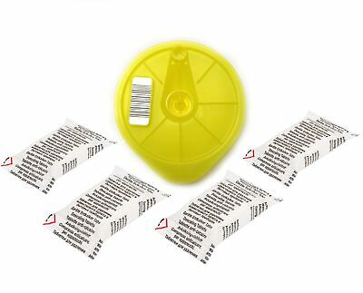 Yellow T-Disc 4 Descaling Tablets Compatible with Tassimo Bosch Braun Suny Vivy