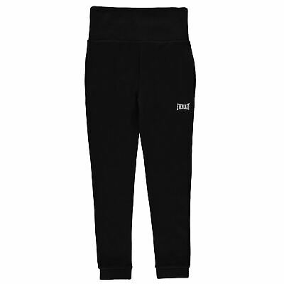 Everlast Kids Girls CH I L Pant Jersey Jogging Bottoms Trousers Pants