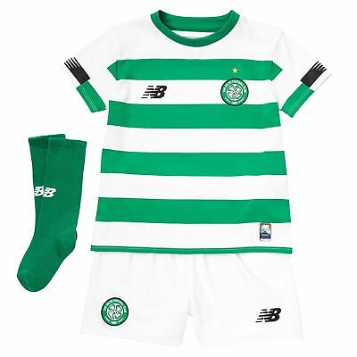 63a3f0fae0f6f New Balance Kids Boys Celtic Home Mini Kit 2019 2020 Domestic Minikits  Football